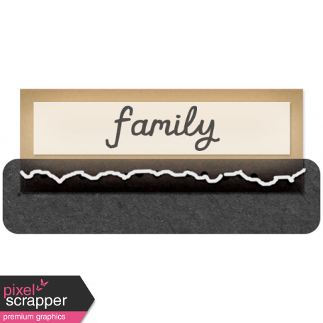 Clear Tabs Kit: Clear Tab - family