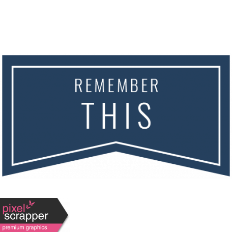 The Good Life - February 2020 Words & Labels - Label Remember This