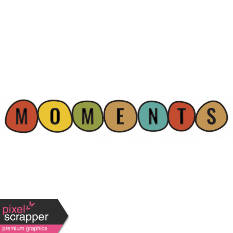 The Good Life - February 2020 Tags & Stickers - Sticker Moments