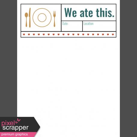 The Good Life - February 2020 Pocket Cards - Card 01 3x4