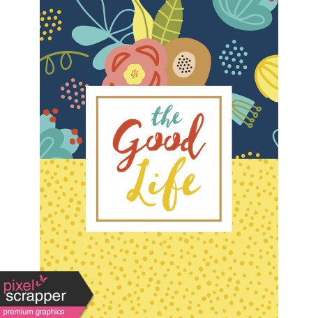 The Good Life - February 2020 Pocket Cards - Card 04 3x4