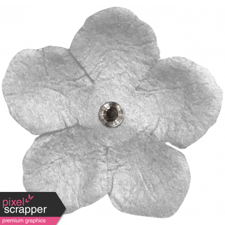 The Good Life: March 2020 Elements Kit - flower 2 white