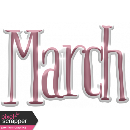 The Good Life: March 2020 Elements Kit - puffy march
