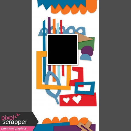 Travelers Notebook Layout Templates Kit #9 -  template 9a