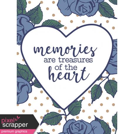 The Good Life - May 2020 Filler Card - Card 02 3x4
