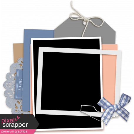Cluster Templates Kit #7 - Template 7B