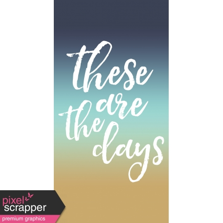The Good Life: July 2020 Journal Me 04 TN Template