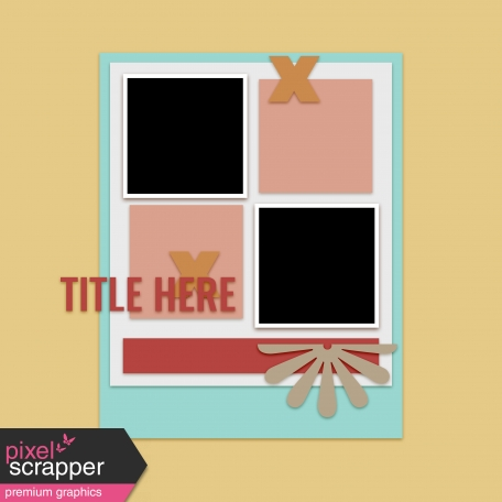 Layout Templates Kit #60 - Layout Template 60a