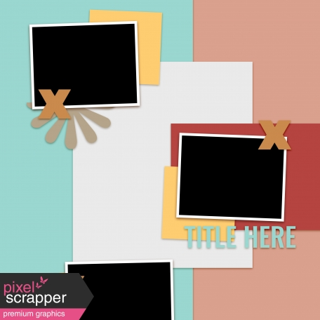 Layout Templates Kit #60 - Layout Template 60c