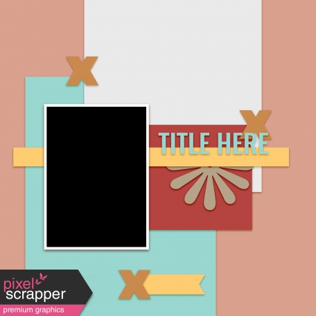 Layout Templates Kit #60 - Layout Template 60d