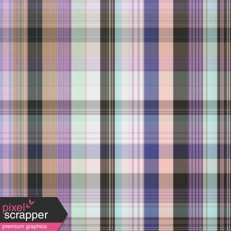 The Good Life - August 2020 Plaid & Solid Papers - Plaid Paper 07
