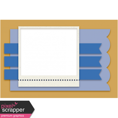 Pocket Cluster Templates Kit #8 - B template