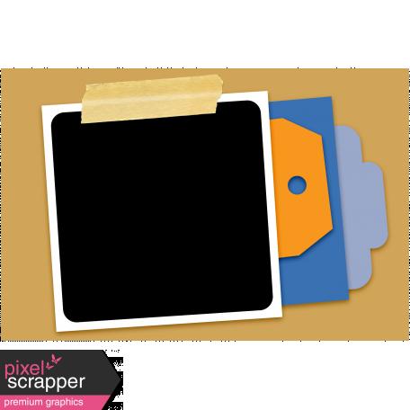 Pocket Cluster Templates Kit #7 - Pocket Cluster 7c Template