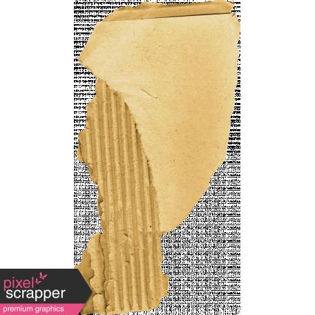 The Good Life - October 2020 Elements -  cardboard scrap
