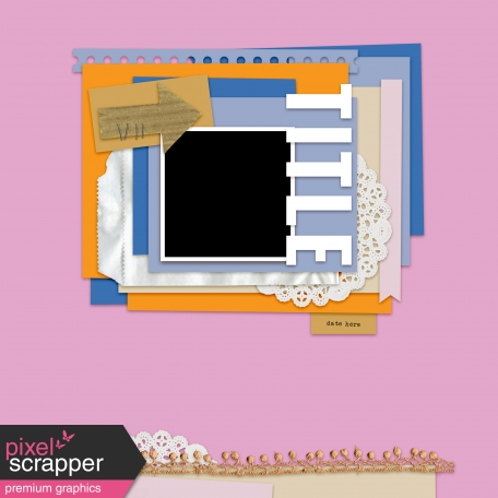 Layout Templates Kit #61 - Layout Template 61c