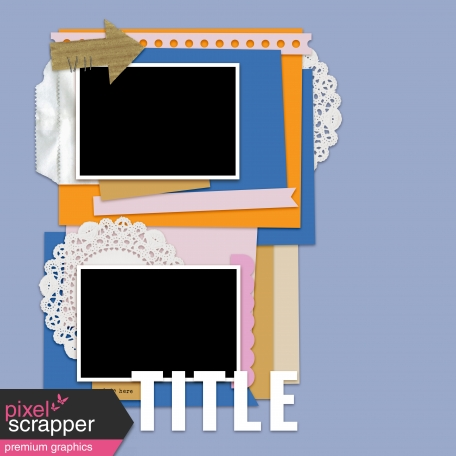 Layout Templates Kit #61 - Layout Template 61d