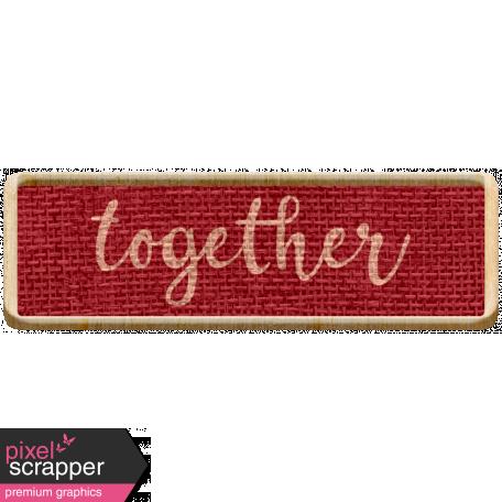 The Good Life: November 2020 Mini Kit - label together 2
