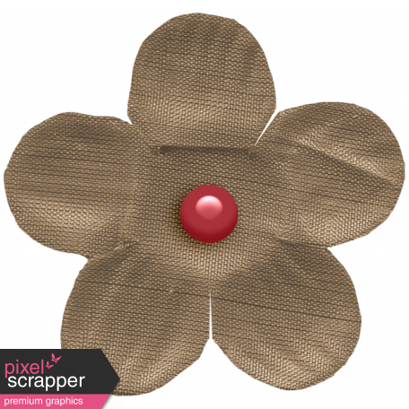 The Good Life: November 2020 Mini Kit - small flower brown