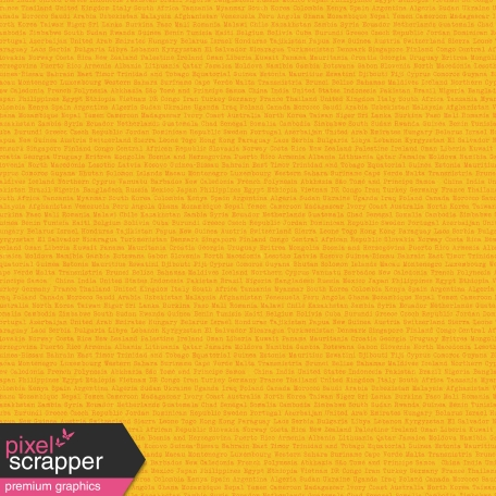 World Traveler #2 Papers Kit - Paper 04b