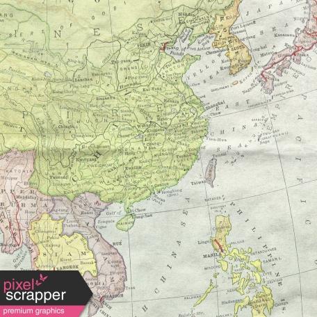 World Traveler #2 Papers Kit - Paper 06