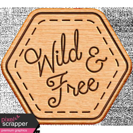 World Traveler Bundle #2 - Neutral Elements - Neutral Wood Wild And Free Badge