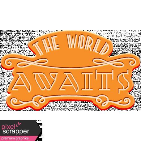 World Traveler Bundle #2 - Elements - Label Rubber World Awaits