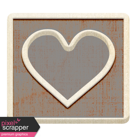 Templates Grab Bag Kit #36 - heart 3