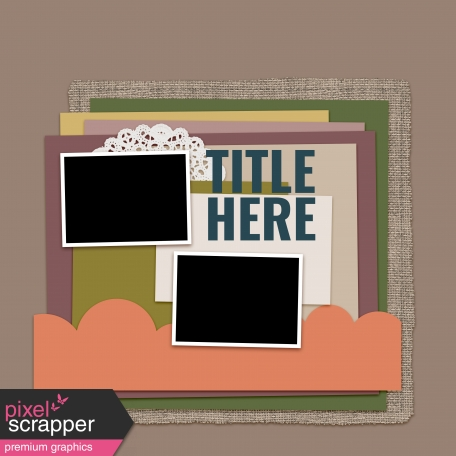 Layout Templates Kit #67 - Layout Template 67A