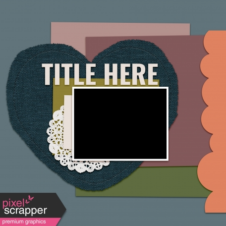 Layout Templates Kit #67 - Layout Template 67C