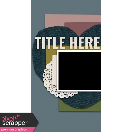 Traveler's Notebook Layout Templates Kit #20 - Layout Template 20C