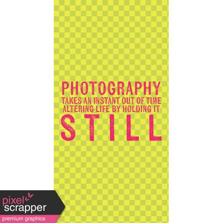That Photo Life Journal Me Kit - Card 05