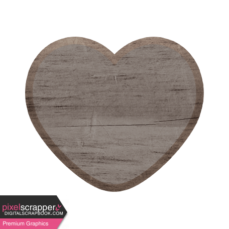 Templates Grab Bag Kit #40 - Wood Heart