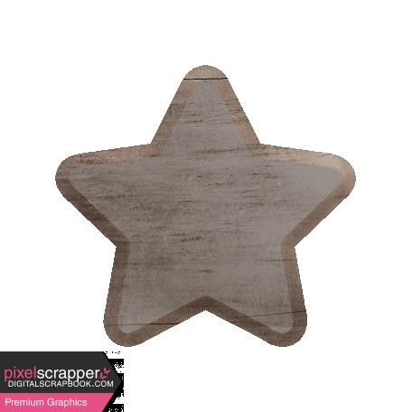Templates Grab Bag Kit #40 - Wood Star