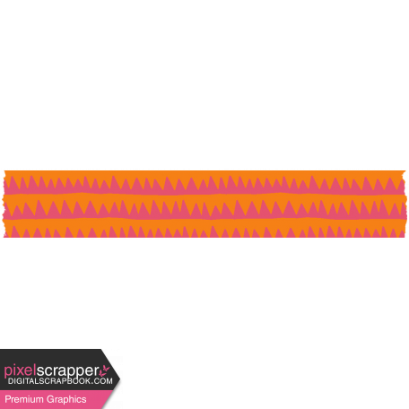 Good Life June 21_Washi Tape-Zigzag Line
