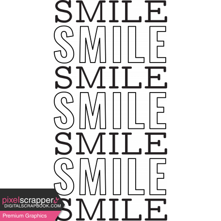 Good Life July 21_Stamp-Smile template