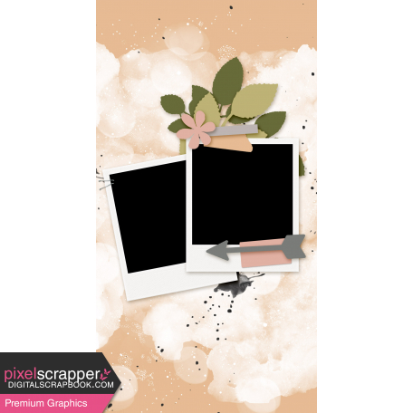 Travelers Notebook Layout Templates Kit #27 - Layout Template 27B