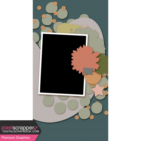 Travelers Notebook Layout Templates Kit #27 - Layout Template 27D