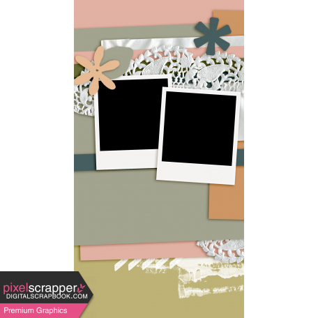 Travelers Notebook Layout Templates Kit #27 - Layout Template 27F