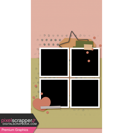 Travelers Notebook Layout Templates Kit #27 - Layout Template 27H