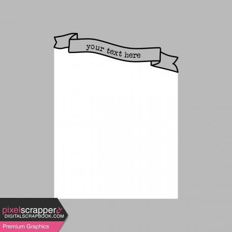 Pocket Card Template Kit #9_Pocket Card-Banner-Curved 4x4