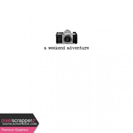 Pocket Card Template Kit #9_Pocket Card-Camera-A Weekend Adventure 4x4