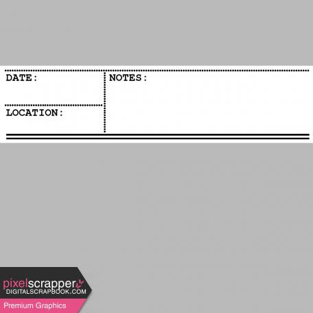Pocket Card Template Kit #9_Pocket Card-Information Card 4x4