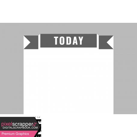Pocket Card Template Kit #9_Pocket Card-Banner-Today 4x6
