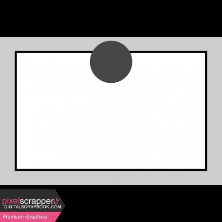 Pocket Card Template Kit #9_Pocket Card-Border With Circle 4x6