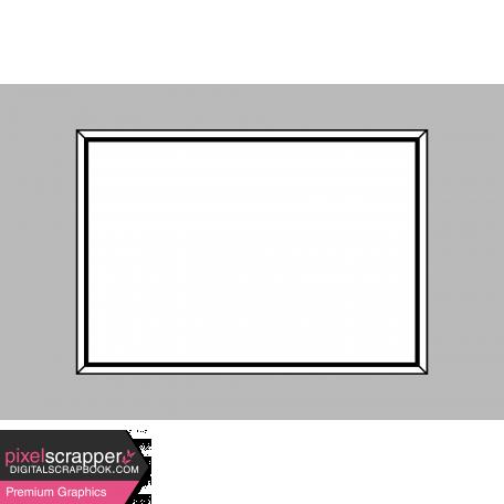 Pocket Card Template Kit #9_Pocket Card-Frame 4x6