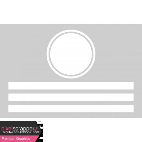 Pocket Cards Templates Kit #11 - Template 11e 4x6