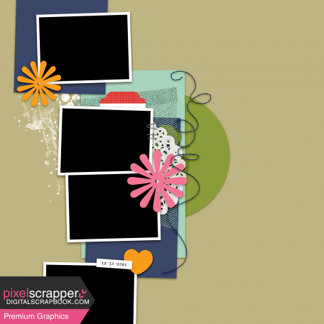 Layout Templates Kit #76 - layout template 76c