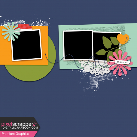 Layout Templates Kit #76 - layout template 76d