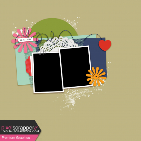 Layout Templates Kit #76 - layout template 76f