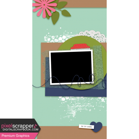 Travelers Notebook Layout Templates Kit #29 - Layout Template 29a